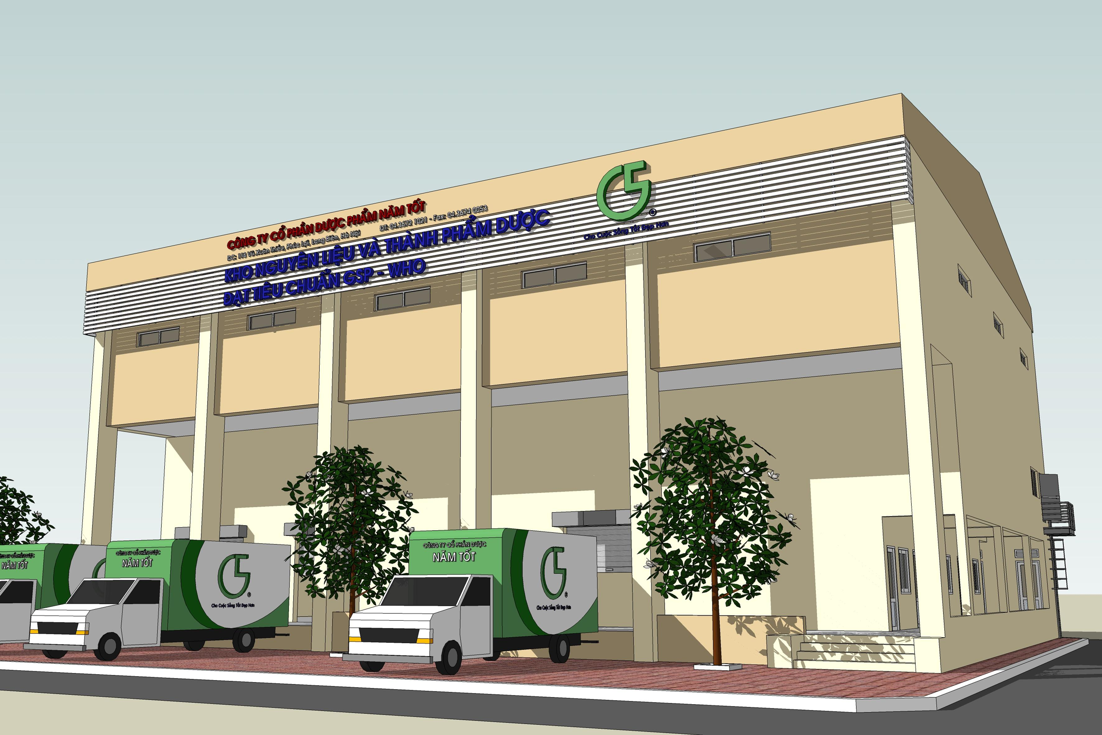 GSP-WHO PHARMACEUTICAL WAREHOUSE - Good Five Pharmaceutical JSC.,